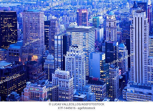 Midtown  New York City, USA