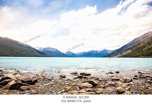 View of lake Argentino, Los Glaciares National Park, Patagonia, Chile
