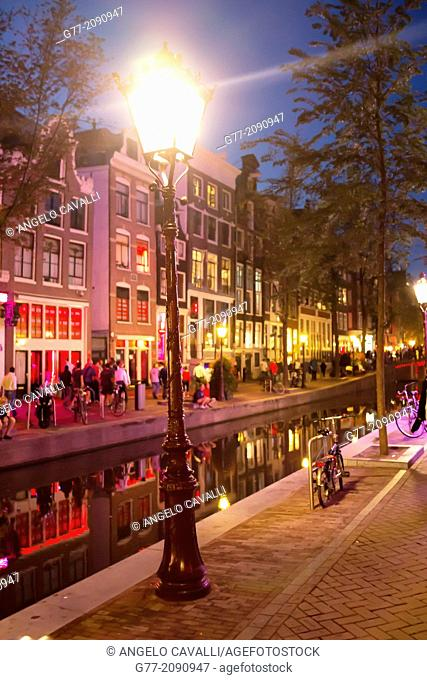 Red Lights District, Amsterdam, Netherlands