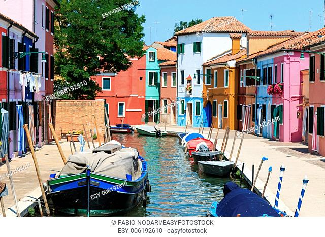 Burano's Colored Houses, Venice