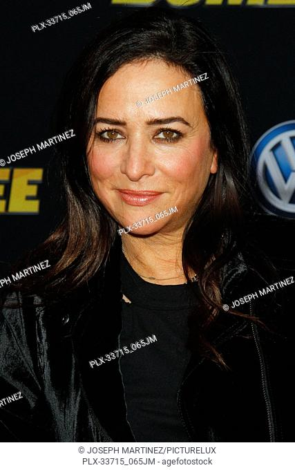 """Pamela Adlon at the Premiere of Paramount Pictures' """"""""Bumblebee"""""""" held at the TCL Chinese Theatre in Hollywood, CA, December 9, 2018"""