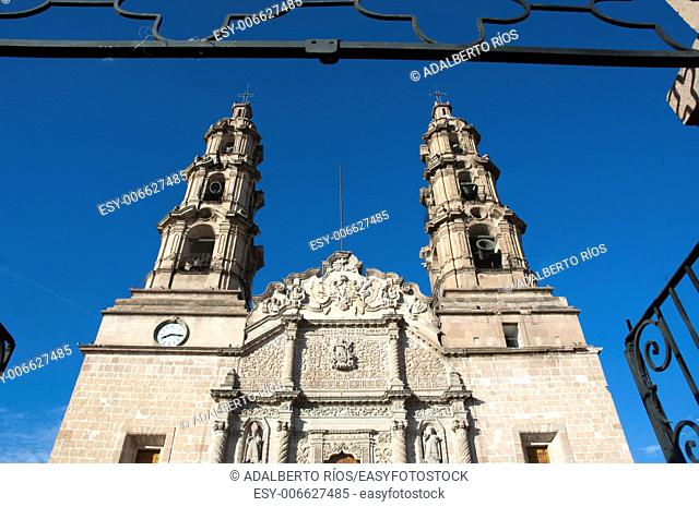 Aguascalientes cathedral Mexico