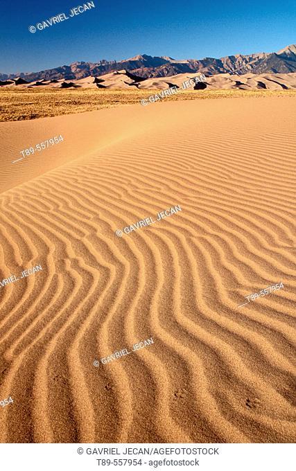 USA, Colorado, Great Sand Dunes National Park