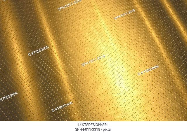 Gold background, computer illustration