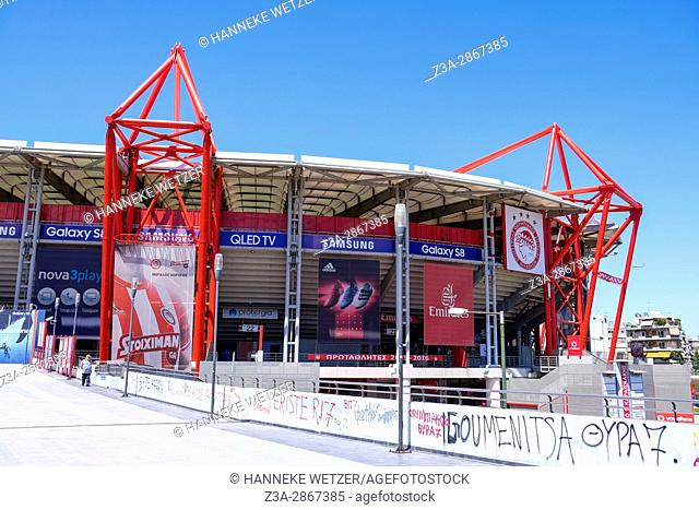 The Karaiskakis Stadium in Athens, Greece