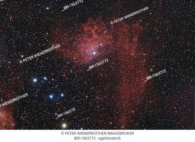 IC 405 Nebula