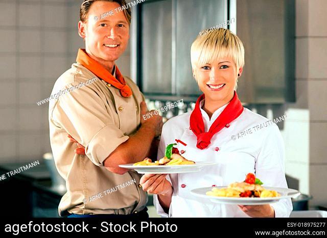 Köche in Restaurant- oder Hotelküche