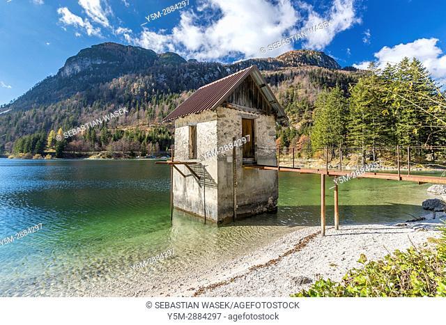 Lago del Predil, Province of Udine, region of Friuli-Venezia Giulia, Italy, Europe