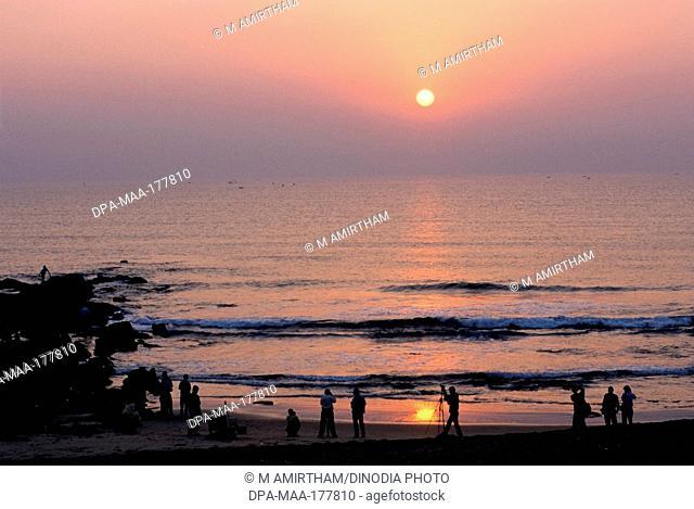 Sun Rise Tennetti Beach Visakhapatnam Andhra Pradesh INDIA