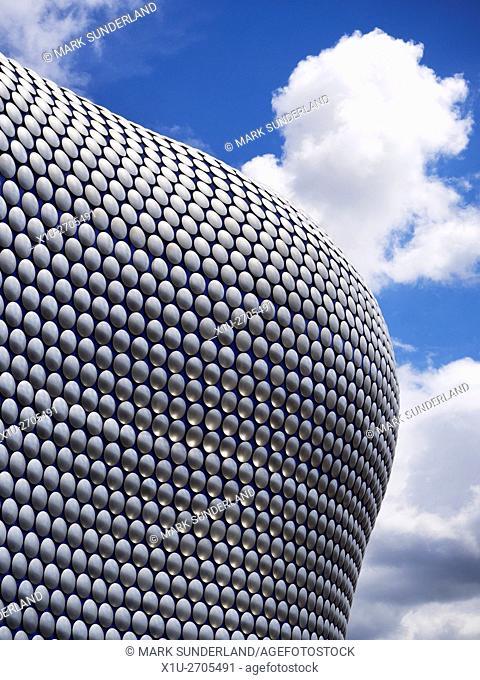 Selfridges Building at the Bullring in Birmingham City Centre West Midlands England