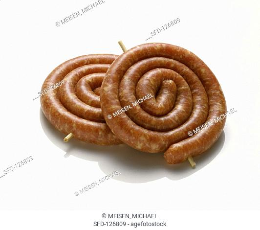 Two Bratwurst Snails
