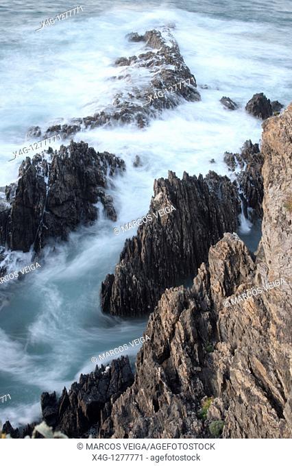 A Vela Coast  Cangas, Pontevedra, Galicia, Spain