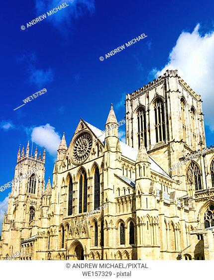 York Minster Cathedral, North Yorkshire, England, UK