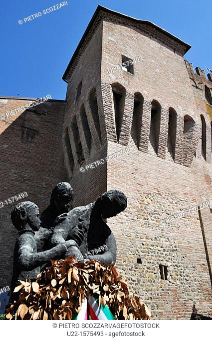 Spilamberto (Modena, Italy): the Torrione of Palazzo del Bargello