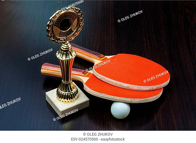 victory in the tennis championship