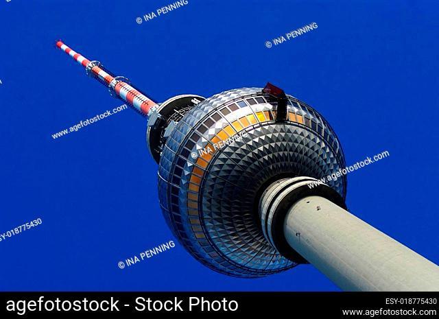 Fernsehturm Berlin mit Kabine