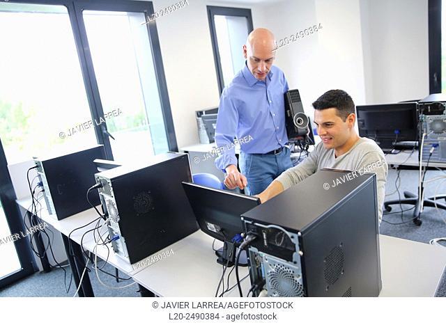 Executive partner. Computer Academy