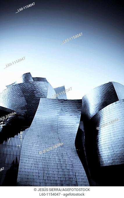Guggenheim Museum, by Frank O Gehry Bilbao Spain