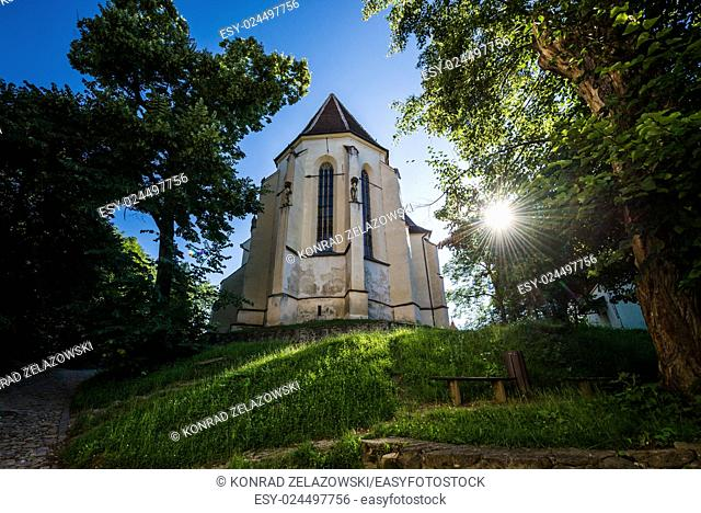 The Church on the Hill in Sighisoara town in Romania