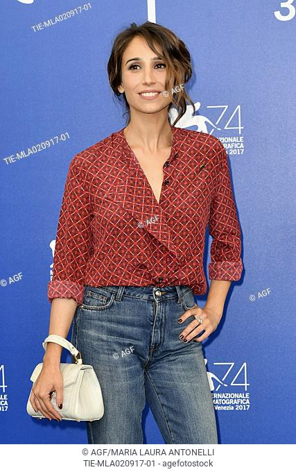 Silvia D'Amico during 'Diva!' film Photocall, 74th Venice Film Festival, Venice 02 sept 2017