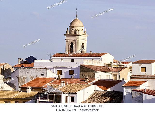 Church of Santa Catalina in Loja, Granada. Spain