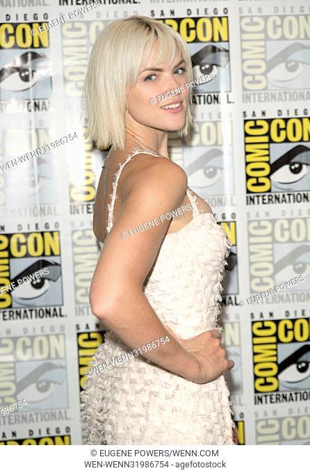 San Diego Comic Con 2017 - Gotham - Photocall Featuring: Erin Richards Where: San Diego, California, United States When: 22 Jul 2017 Credit: Eugene Powers/WENN