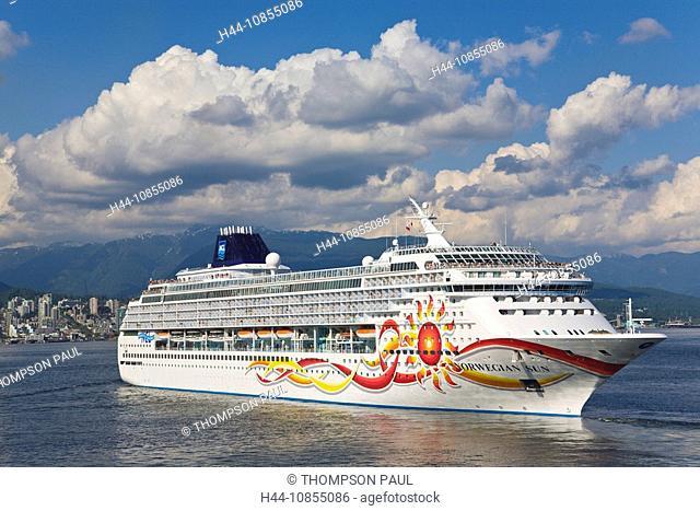 10855086, cruise ship, NCL, Norwegian Sun, Vancouv