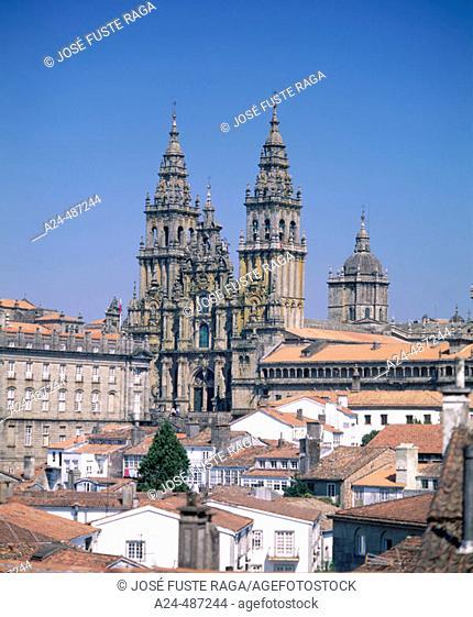 Santiago de Compostela (Coruña). Galicia. Spain