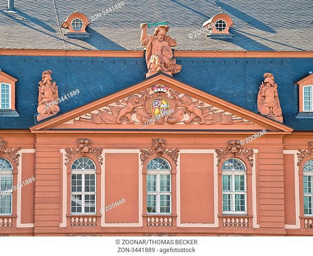 Das Neue Zeughaus in Mainz ist der Sitz der Staatskanzlei Rheinland-Pfalz