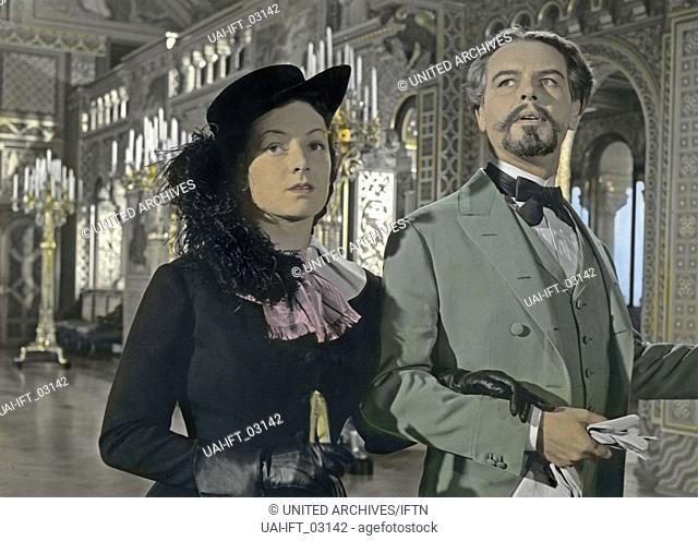 Ludwig II.: Glanz und Ende eines Königs, Deutschland 1955, Regie: Helmut Käutner, Darsteller: O. W. Fischer, Ruth Leuwerik