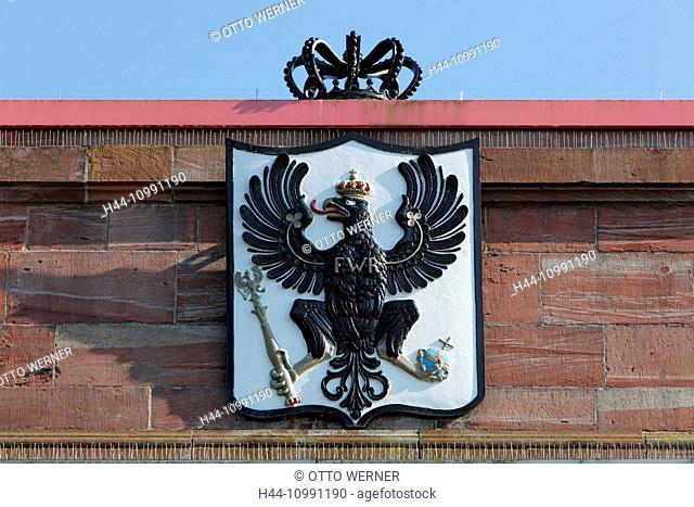 Stronghold in Wesel, Lower Rhine, North Rhine-Westphalia