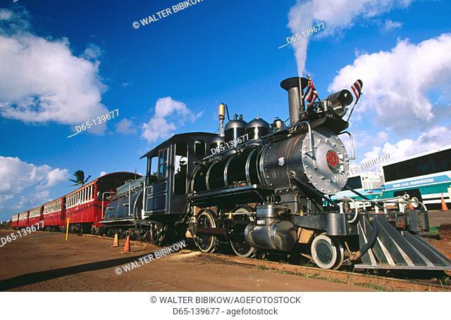 Sugar Cane Train. Maui Island. Hawaii. USA