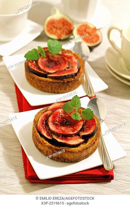 Figs tartlets