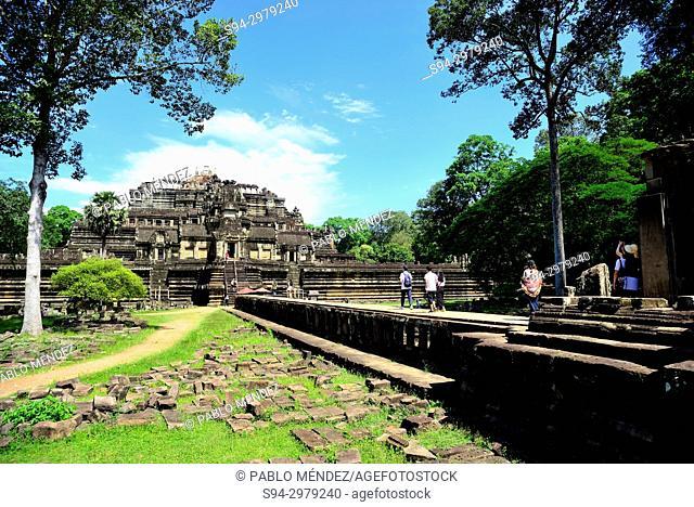 Phimeanakas temple, Angkor Thom, Angkor area, Siem Reap, Cambodia