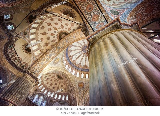 Sultan Ahmed Mosque (Blue Mosque). Istanbul. Turkey