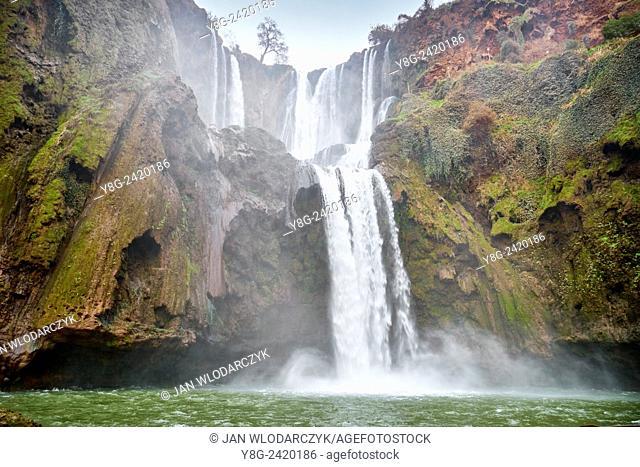 Ouzoud Waterfalls, Beni Melal, Morocco, Africa