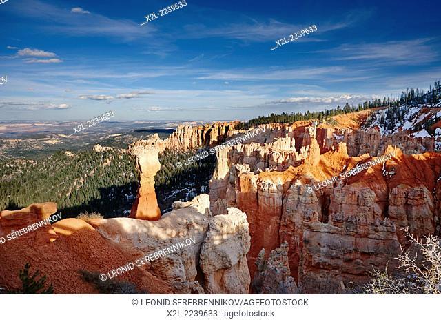 Bryce Canyon Agua Canyon Viewpoint. Utah, USA