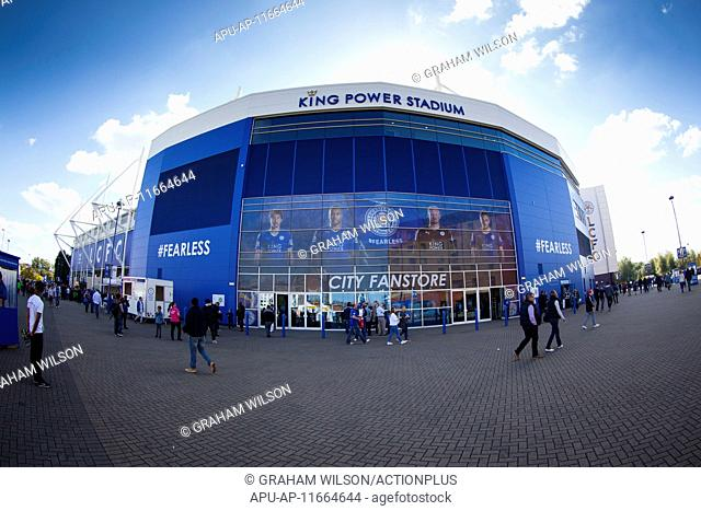 2015 Barclays Premier League Leicester v Arsenal Sep 26th. 26.09.2015. Leicester, England. Barclays Premier League. Leicester City versus Arsenal