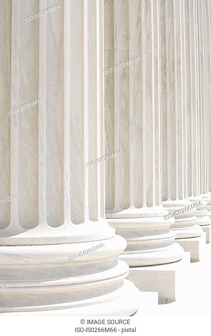 Columns of US supreme court
