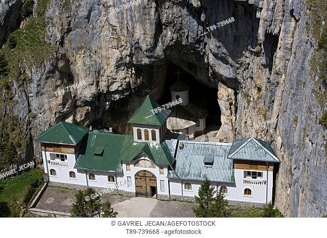 Cheia Monastery in Central Romania