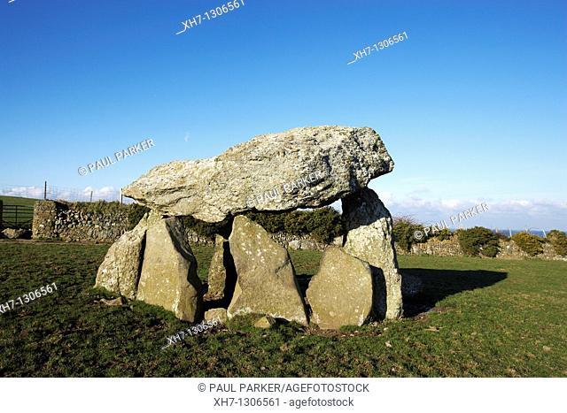 Carreg Samson, Neolithic Monument, Abercastle, Ceredigion, West Wales, UK