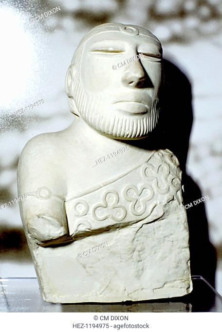 Priest King or Deity, Indus Valley, Mohenjo-Daro, c2100 BC
