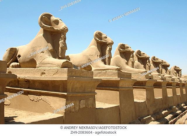 Karnak Temple Complex, Luxor (Thebes), Egypt, Africa