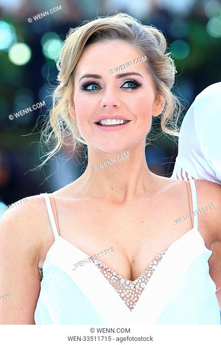 Dancing On Ice 2018 photocall at the Natural History Museum Ice Rink Featuring: Stephanie Waring Where: London, United Kingdom When: 19 Dec 2017 Credit: WENN
