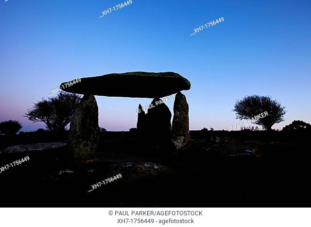 Pentre Ifan, Neolithic Burial Chamber, West Wales, UK
