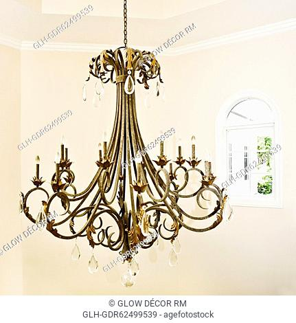 Close-up of a chandelier