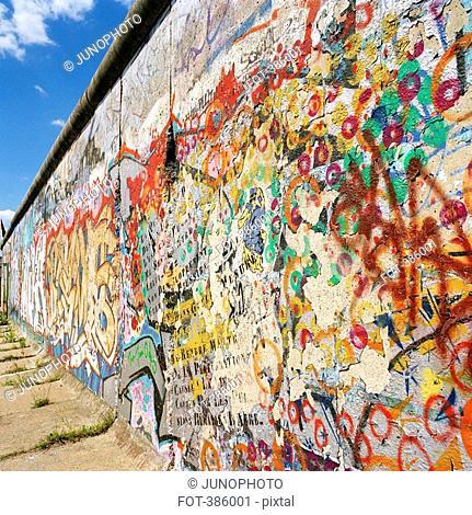 Graffiti on the Berlin Wall, Germany