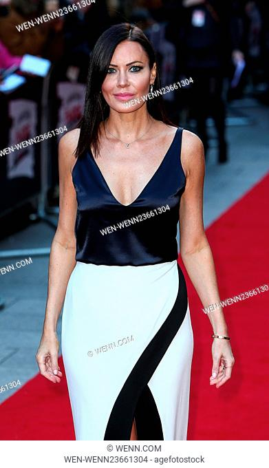 Arrivals for the Jameson Empire Awards 2016 at the Grosvenor House Hotel Featuring: Lynsey Stoppard Where: London, United Kingdom When: 20 Mar 2016 Credit: WENN