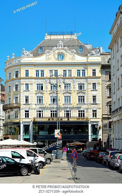 Representative town house on the Neuer Markt in the Austrian capital Vienna - Austria