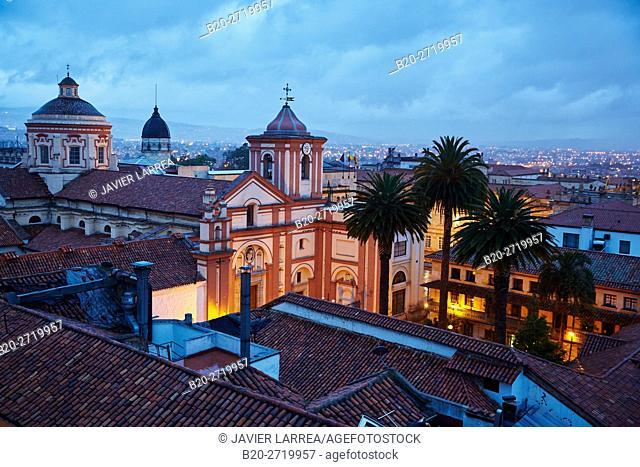 San Ignacio Church, La Candelaria, Bogota, Cundinamarca, Colombia, South America
